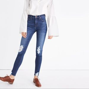 """Madewell 9"""" Skinny Jeans: Destructed Edition"""